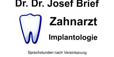 Brief Josef Dr. Dr.med.dent. Zahnarzt in Frankfurt am Main