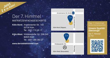 Der 7. Himmel Matratzen-Fachgeschäft Köln-West in Köln