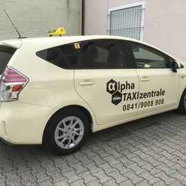 Alpha Taxizentrale Autovermietung für Taxiersatzfahrzeuge in Ingolstadt an der Donau