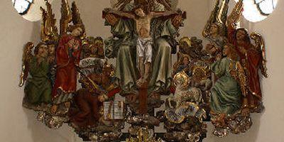 Heilige Dreifaltigkeitskirche in Amberg in der Oberpfalz