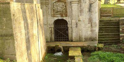 Lutterspring, die Quelle in Königslutter am Elm