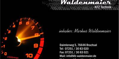 Kfz-Technik Waldenmaier in Bruchsal