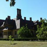 Schloss Cecilienhof (Im Neuen Garten) Historische Gedenkstätte der Potsdamer Konferenz in Potsdam