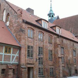Heilig-Geist-Kirche in Wismar in Mecklenburg