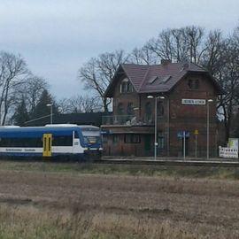 Bild zu Bahnhof Lindenberg (Mark) in Tauche