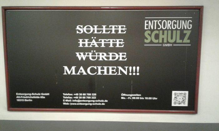 Entsorgung Schulz Gmbh In Berlin In Das örtliche