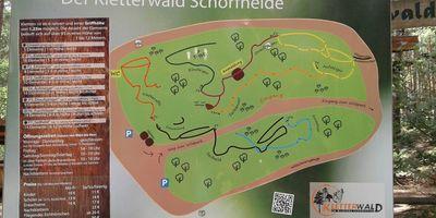 Kletterwald Schorfheide in Schorfheide