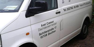 Caesar Dachdeckungsgeschäft Axel in Zeuthen