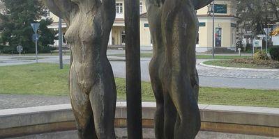 Brunnen »Lebensfreude« in Bad Saarow