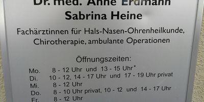 HNO-Praxis Erdmann/Heine Dr. Fachärzte für HNO in Berlin