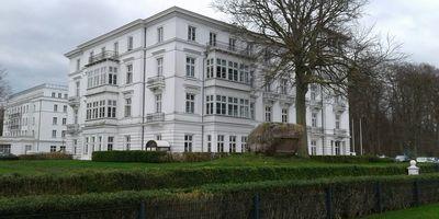 Gedenkstein für Friedrich Franz I in Heiligendamm Stadt Bad Doberan