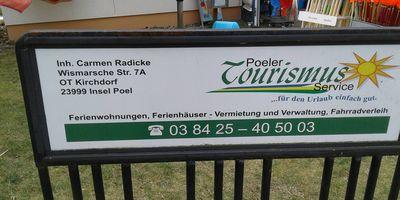 Poeler Tourismus-Service Carmen Radicke Zimmervermittlung u. Fahrradverleih in Insel Poel