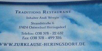 Zur Klause - Traditionsrestaurant seit 1923 in Ostseebad Heringsdorf