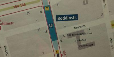 U-Bahnhof Boddinstr. in Berlin