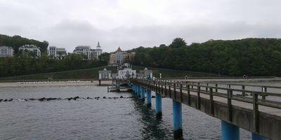 Seebrücke Sellin in Ostseebad Sellin