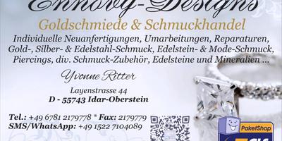 Ennovy-Designs - Goldschmiede & Schmuckhandel in Idar-Oberstein