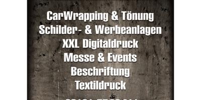 Werbeatelier TWOinONE Beschriftung, Folierung, Druck in Mainz