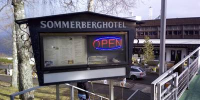 Sommerberg Restaurant in Bad Wildbad