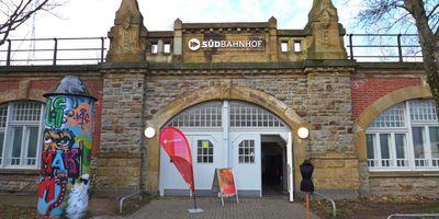 Südbahnhof, Kulturzentrum des Werkhaus e. V. in Krefeld