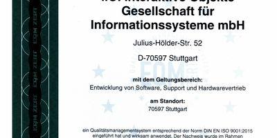 i.O. interaktive Objekte Gesellschaft für Informationssysteme mbH Softwareentwicklung in Stuttgart