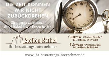 Bestattungen Schwaan Steffen Räthel in Schwaan