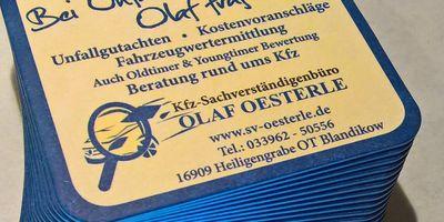Kfz-Sachverständigenbüro Olaf Oesterle in Heiligengrabe