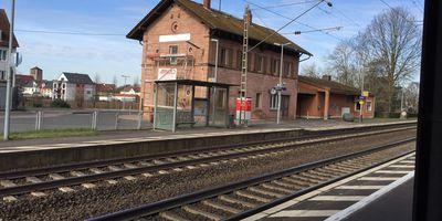 Bahnhof Kleinostheim in Kleinostheim