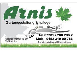 Arnis Gartengestaltung & -pflege in Ulm an der Donau