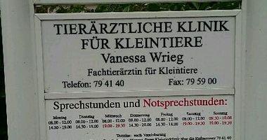 Wrieg Vanessa Fachtierärztin für Kleintiere in Lübeck