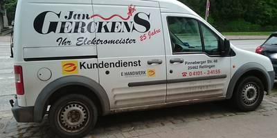 Gerckens Jan Elektromeister in Rellingen