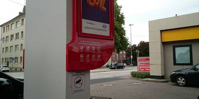 ESSO Station in Bremerhaven