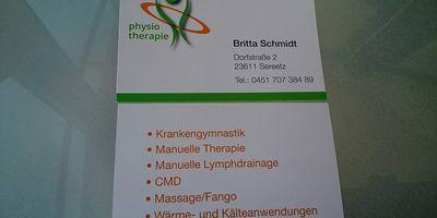 Schmidt, Britta in Sereetz Gemeinde Ratekau