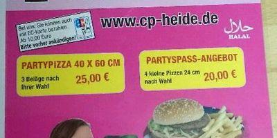 City Pizza Service e.K in Heide in Holstein