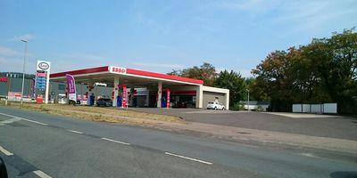 Esso Station in Oerlinghausen