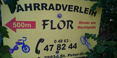 Fahrradverleih Stefan Flor in Sankt Peter Ording