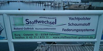 Stoffwechsel Roland Gollnick in Fehmarn