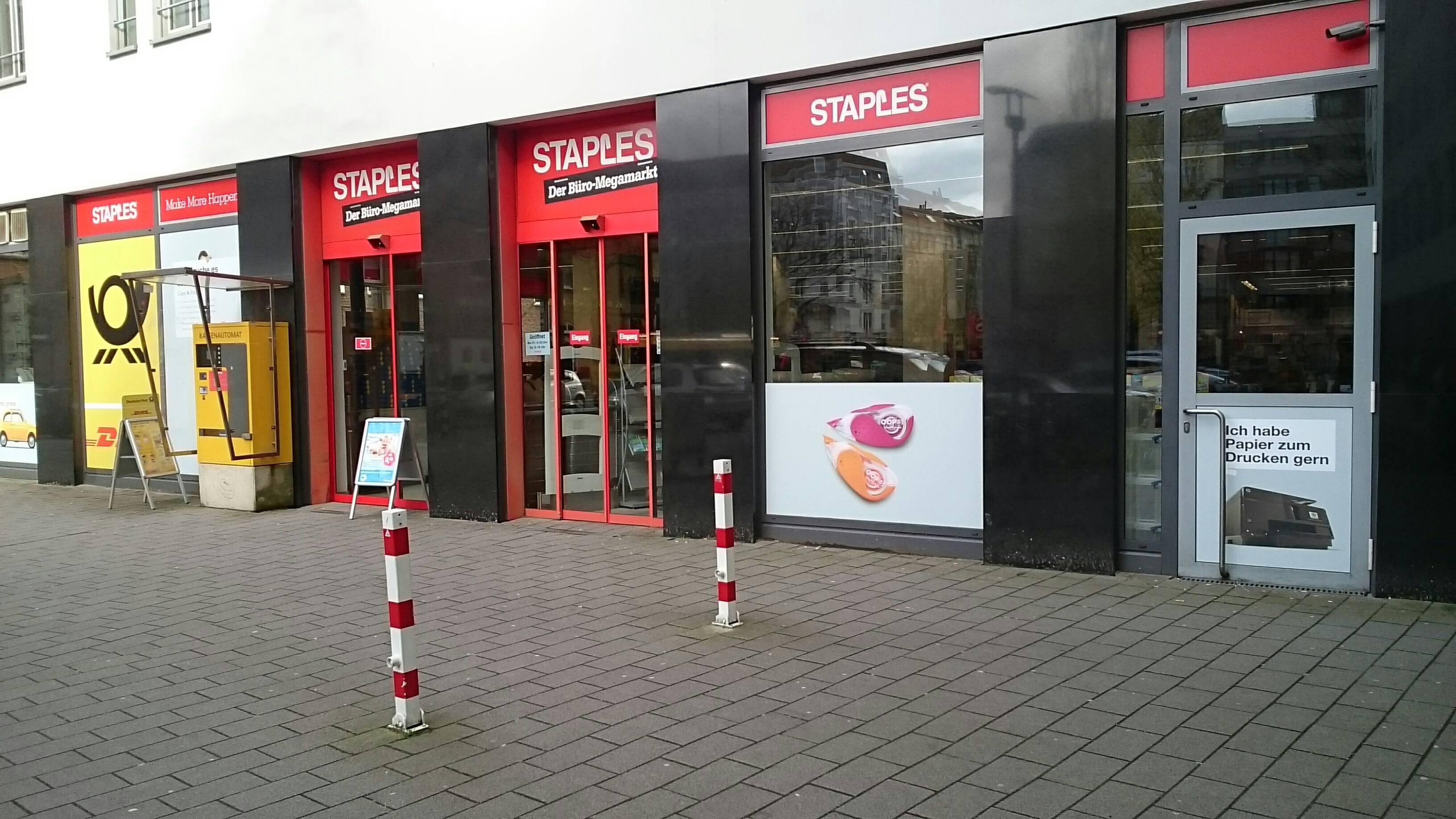 Staples Hamburg Barmbek 22303 Hamburg Winterhude