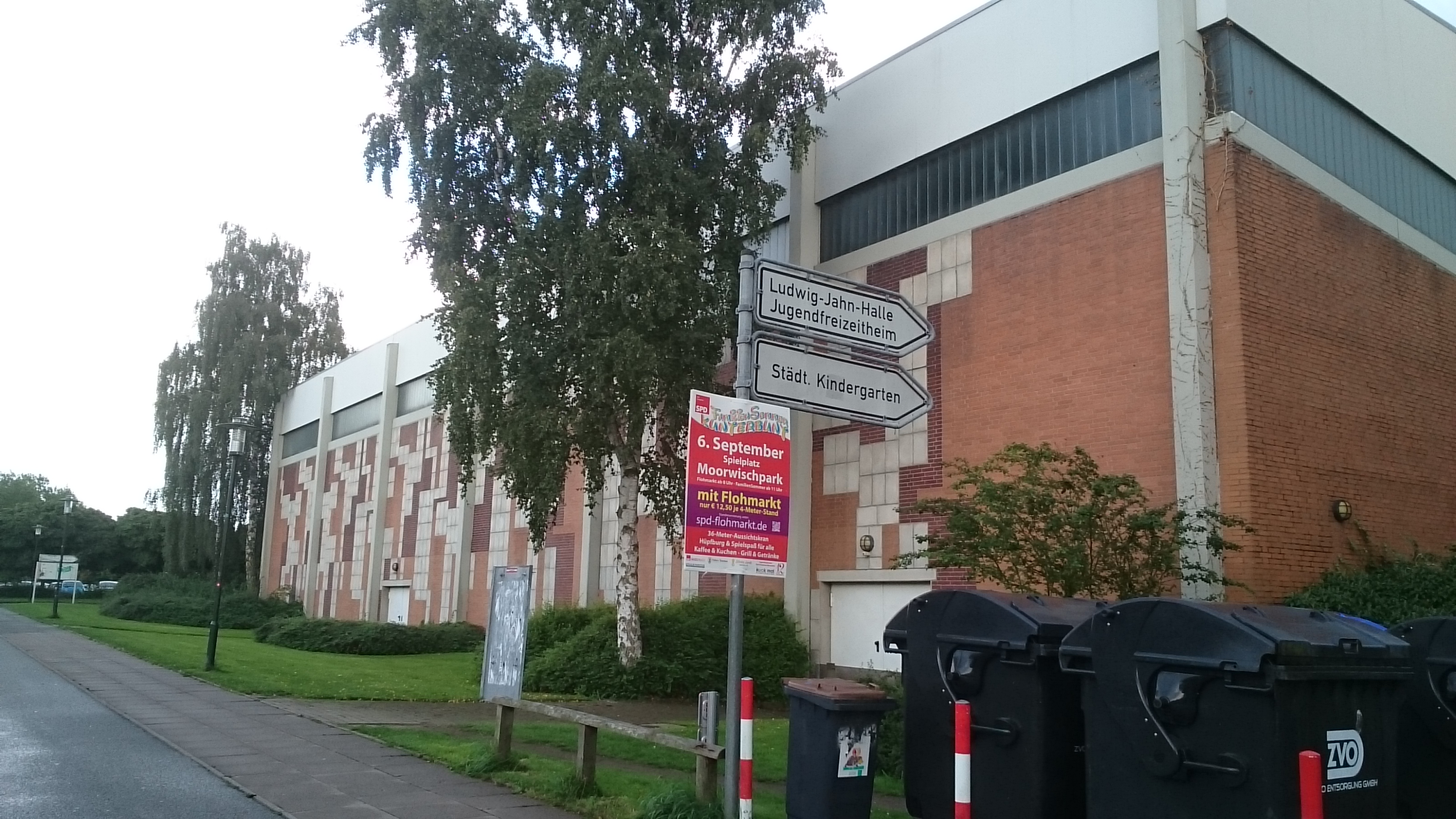 Sporthallen in Ludwig-Jahn-Str. 7 23611 Bad Schwartau