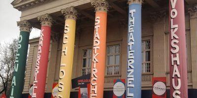 Das Meininger Theater in Meiningen