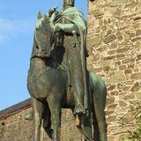 Graf Engelbert II von Berg - Reiterstandbild in Solingen