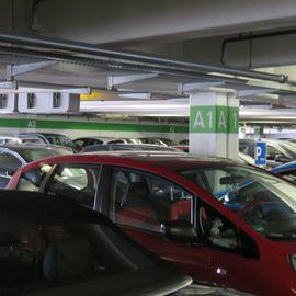 Parkhaus Allee Center in Hamm in Westfalen