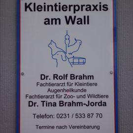 Kleintierpraxis am Wall, Dr. Rolf Brahm und Dr. Tina Brahm-Jorda in Dortmund