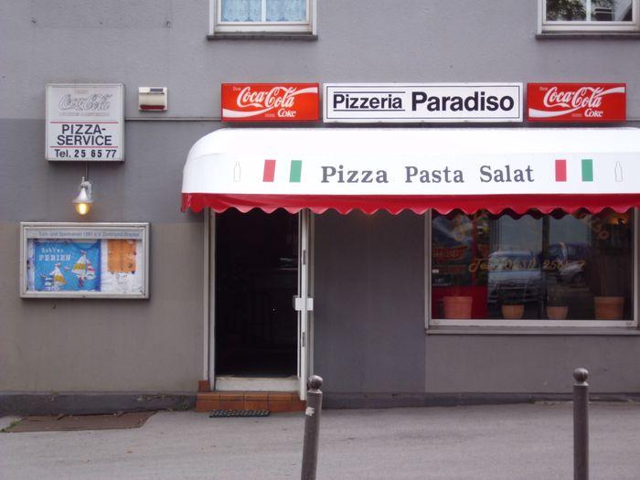 bilder und fotos zu pizzeria paradiso in dortmund brackeler hellweg. Black Bedroom Furniture Sets. Home Design Ideas