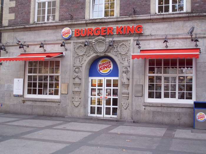 bilder und fotos zu burger king haus zum ritter in dortmund ostenhellweg. Black Bedroom Furniture Sets. Home Design Ideas