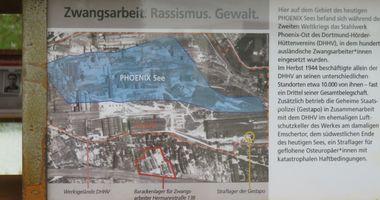 Mahnmal für Zwangsarbeiter (Kulturinsel Phoenix See) in Dortmund