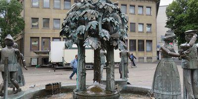 Lebensfreude - Brunnen in Iserlohn