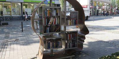 Offener Bücherschrank in Schwerte