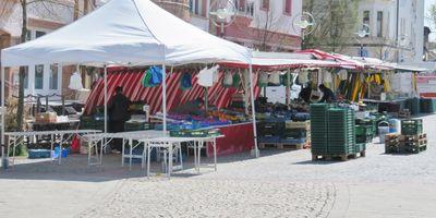 Wochenmarkt Limbecker Straße, Dortmund Lütgendortmund in Dortmund