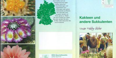 DKG - Deutsche Kakteen-Gesellschaft e.V. in Adelsdorf in Mittelfranken