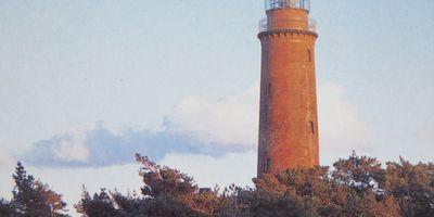 Leuchtturm Darßer Ort in Born am Darß